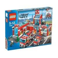 Lego – City – jeu de construction – La caserne de pompiers