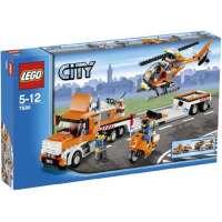 Lego – 7686 – Jeu de construction – City – Traffic – Le transport de l'hélicoptère