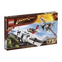 Lego – 7198 – Jeu de construction – Indiana Jones – Poursuite en avion