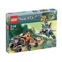 Lego – 8630 – Jeu de construction – Agents – Mission 3: La chasse à l'or