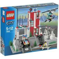 Lego – City – jeu de construction – Le poste de secours