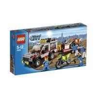 Lego City – 4433 – Jeu de Construction – Le Transporteur de Motos – Tout Terrain