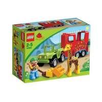 Lego Duplo Legoville – 10550 – Jeu de Construction – Le Transport du Cirque