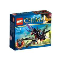 Lego Legends Of Chima – Playthèmes – 70000 – Jeu de Construction – Le Corbeau Planeur de Razcal