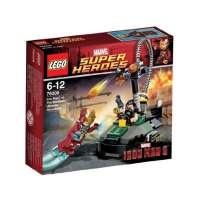 Lego Super Heroes – Marvel – 76008 – Jeu de Construction – L'ultime Combat – Iron Man Contre le Mandarin