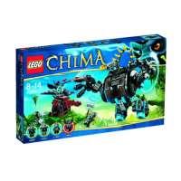 Lego Legends of Chima – Playthèmes – 70008 – Jeu de Construction – L' ultra Robot de Gorzan