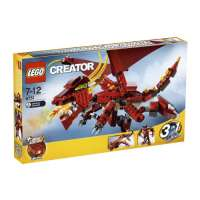 Lego – 6751 – Jeu de construction – Creator – Le dragon