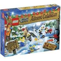 Lego – 7724 – Jeu de construction – LEGO City – Le calendrier de l'Avent LEGO City