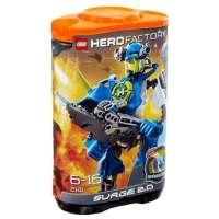 Lego Hero Factory – 2141 – Jeu de Construction – Surge 2.0 – Bleu