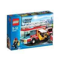 Lego City – 60002 – Jeu de Construction – Le Camion de Pompier
