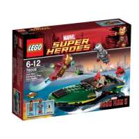 Lego Super Heroes – Marvel – 76006 – Jeu de Construction – La Bataille du Port Extremis – Iron Man