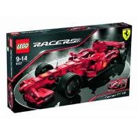 Lego – 8157 – Jeu de construction – Racers – Ferrari F1 1:9