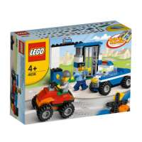Lego Briques – 4636 – Jeu de Construction – Set de Construction – Police
