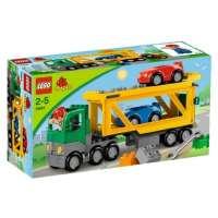 Lego Duplo – Legoville – 5684 – Jouet Premier Age – Le Transporteur de Voitures