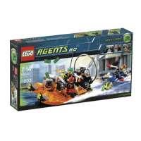 Lego – 8968 – Jeu de construction – Agents – La poursuite sur la rivière