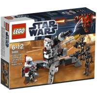 Lego Star Wars – 9488 – Jeu de Construction – Arc Trooper et Commando Droid