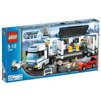 Lego City – 7288 – Jeu de Construction – L' Unité de Police Mobile