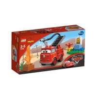 Lego Duplo Cars – 6132 – Jouet de Premier Âge – Rouge