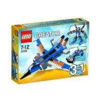Lego Creator – 31008 – Jeu de Construction – L'avion de Chasse