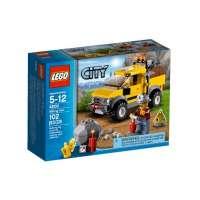 Lego City – 4200 – Jeu de Construction – Le 4 x 4 de la Mine