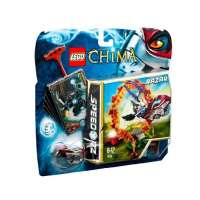 Lego Legends Of Chima – Speedorz – 70100 – Jeu de Construction – L'anneau de Feu