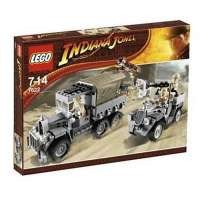 Lego – 7622 – Indiana Jones – Jeux de construction – L'attaque du convoi
