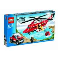 Lego – 7206 – Jeu de Construction – Lego City – L 'Hélicoptère des Pompiers