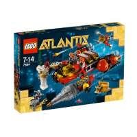 Lego Atlantis – 7984 – Jeu de Construction – Le Torpilleur des Profondeurs