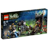 Lego Monster Fighters – 9466 – Jeu de Construction – Le Professeur Fou et sa Créature Monstrueuse