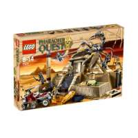 Lego Pharaoh's Quest – 7327 – Jeu de Construction – La Pyramide du Scorpion