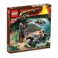 Lego – 7625 – IndianaJones – Jeux de construction – La poursuite sur la rivière
