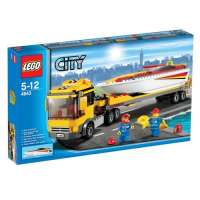 Lego City – 4643 – Jeu de Construction – Le Camion et son Hydrospeed