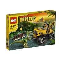 Lego Dino – 5884 – Jeu de Construction – La Poursuite du Vélociraptor