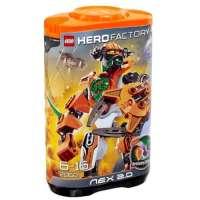 Lego Hero Factory – 2068 – Jeu de Construction – Nex 2.0 – Orange