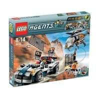 Lego – 8634 – Jeu de construction – Agents – Mission 5: La poursuite en voiture turbo