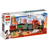 Lego – 7597 – Jeux de construction – lego toy story – Course poursuite dans le train du Far West