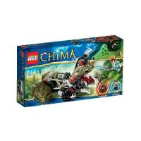 Lego Legends Of Chima – Playthèmes – 70001 – Jeu de Construction – La Croc Griffeuse de Crawley