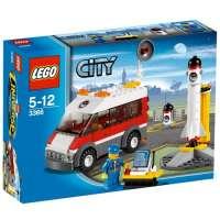Lego City – 3366 – Jeu de Construction – L'aire de Lancement
