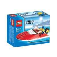 Lego City – 4641 – Jeu de Construction – Le Hors-Bord