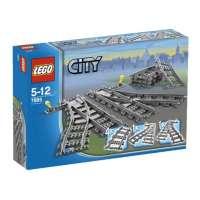 Lego – City – jeu de construction –  Les aiguillages V29