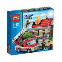 Lego City – 60003 – Jeu de Construction – L'intervention du Camion de Pompier