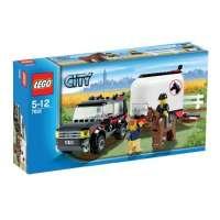 Lego – 7635 – Jeu de construction – Lego City – Le transport de chevaux