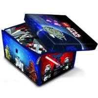 Lego – A1433XX – Accessoire Jeu de Construction – Star Wars Zipbin Grand modèle – Sac de rangement et tapis de jeu