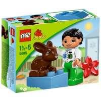 Lego Duplo – Legoville – 5685 – Jouet Premier Age – Le Vétérinaire
