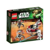 Lego Star Wars TM – 75000 – Jeu de Construction – Clone Troopers Vs Droïdekas