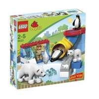 Lego – 5633 – Jeu de construction – Duplo Legoville – Le zoo polaire