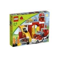Lego Duplo Legoville – 6168 – Jouet d'Eveil – La Caserne des Pompiers
