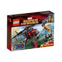 Lego Super Heroes – 6866 – Jeu de Construction – L'Hélicoptère de Wolverine