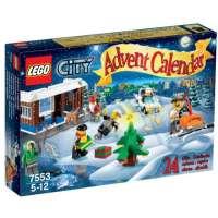 Lego City – 7553 – Jeu de Construction – Le Calendrier de l'Avent Lego City