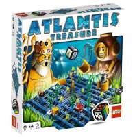 LEGO – 3851 – Jeu de construction – LEGO® Jeux de société – Atlantis Treasure